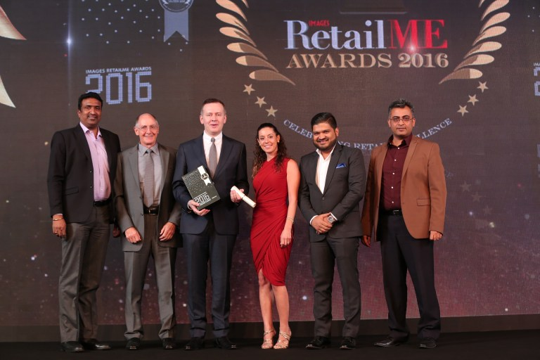 "REDTAG Named the ""Most Admired Retailer of the Year: Affordable Fashion"" at the Annual Images Retail ME Awards 2016"